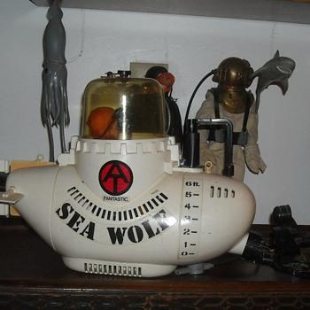 GI Joe Adventure Team Fantastic Sea Wolf 1975 - Toys