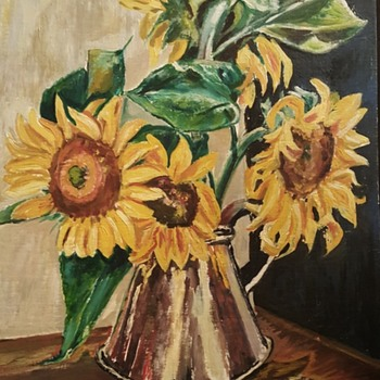 I love this pic of sunflowers - Fine Art