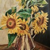 I love this pic of sunflowers