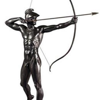 BOGENSCHÜTZE (THE ARCHER) - Bronze