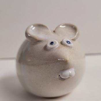 Ceramic Mouse - Pottery