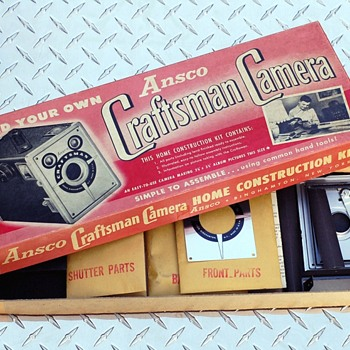 Ansco Craftsman Camera Kit
