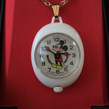 Bradley Mickey Mouse Pendant Watch - Wristwatches