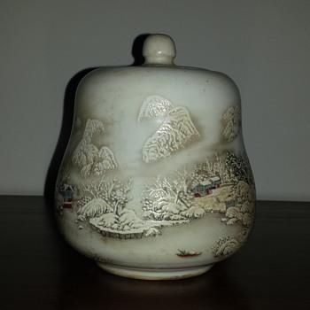 Porcelain Water Jar - Pottery