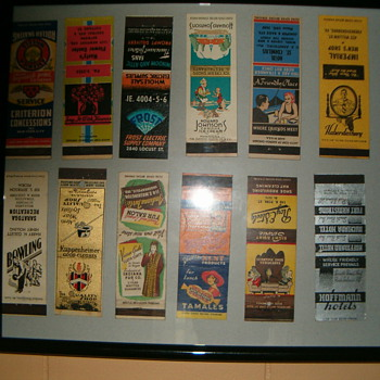 Vintage Matchbook Covers - Advertising