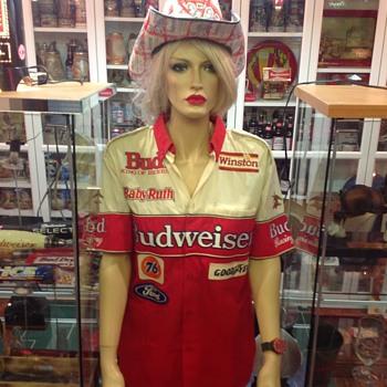 Budweiser pit crew uniform  - Breweriana