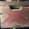 Lucky Lager Wooden Crate