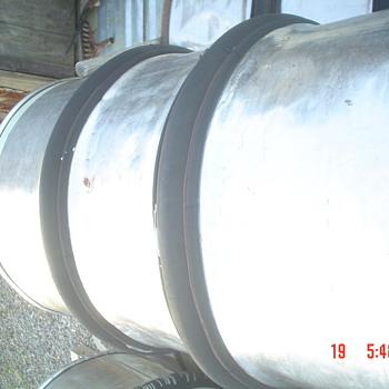 Coca-Cola Barrels with Rubber Bumpers - Coca-Cola