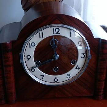 German mantle clock (restored) - Clocks