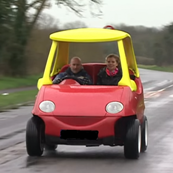 Real Life Little Tyke Car