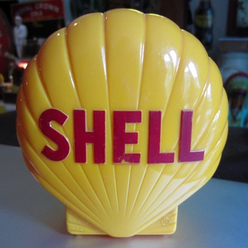 SHELL Bank 1950s giveaway - Advertising
