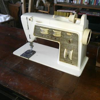 Vintage Singer desk