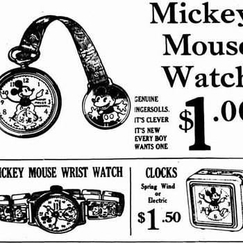 First Watch advert. - Wristwatches