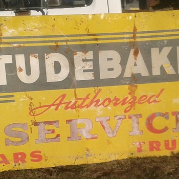 Studebaker Service sign 4x8 - Signs