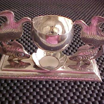 Oriental Tea Strainer - Silver