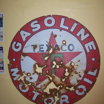 texaco sign - Petroliana
