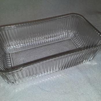 old 'refrigerator dish'?? - Glassware