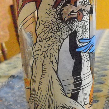 Roadrunner and Wile E. Coyote 1976 Pepsi Collector Series