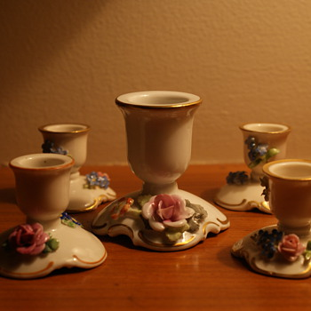 von Schierholz Porcelain Candle Holders - China and Dinnerware