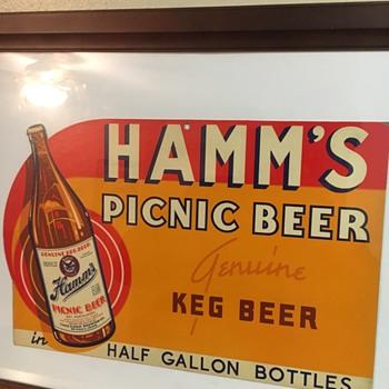 Hamms Picnic Beer - Breweriana