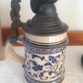 Second late husbands German ?Mettlach Military Beer Stein WW1