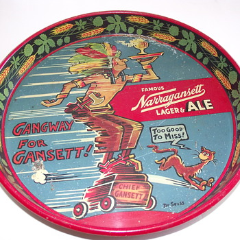 Chief Ganszt  by Dr Seuss - Breweriana