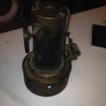 Vintage steam mini engine  - Tools and Hardware