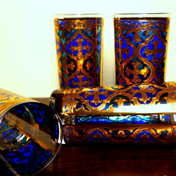 Georges Briard Glassware History and Pattern Recognition Information - Kitchen