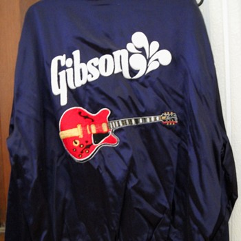 Repost BB King Custom red Gibson Lucille Jacket