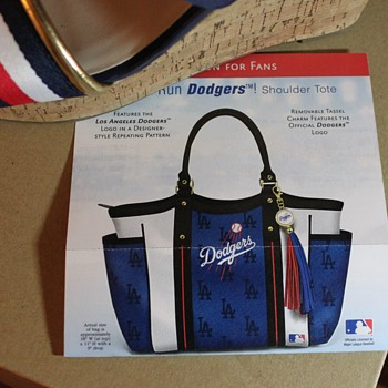Los Angeles Dodgers Handbag or Native American unique Bracelet! - Baseball