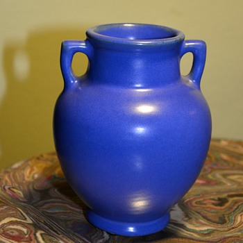 Little Blue Two-handled Pot - Pottery