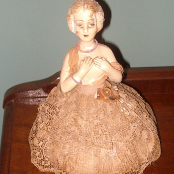 Early 20th century porcelain doll - Dolls