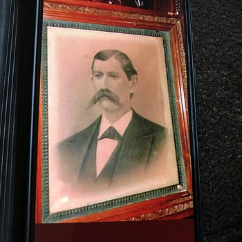 Antique western photograph of Wyatt Earp ??? - Photographs