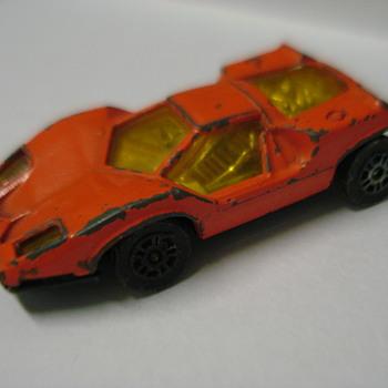 Vintage die-cast exotics - Model Cars