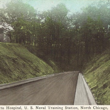 GREAT LAKES NAVAL TRAINING CENTER - Postcards