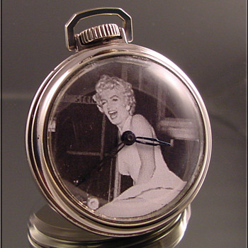 Marilyn Monroe Dollar Watch - Pocket Watches