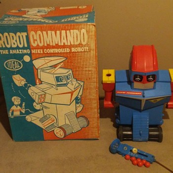 1960's Ideal Robot Commando  - Toys
