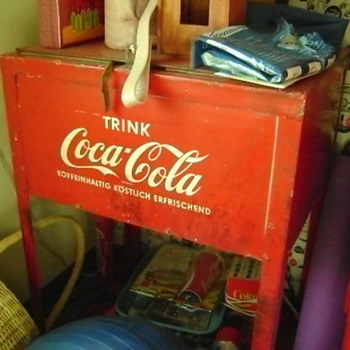 German Coke Ice Box - Coca-Cola
