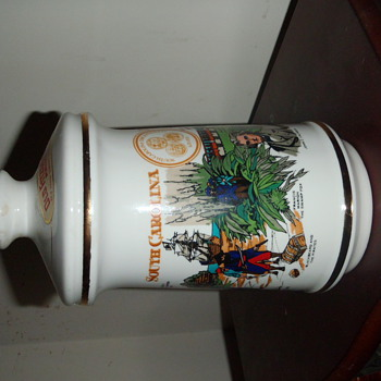 South Carolina Tricentennial Old Fitzgerald Decanter - Bottles