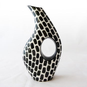 Organic vase, Moloza (Spain, ca. 1960) - Pottery
