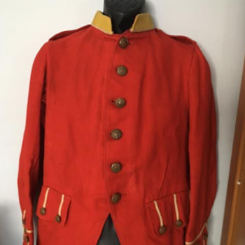 Pre-WWI  Edwardian Highland Regiment Patrol Frock - Military and Wartime