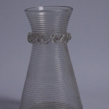 Small Decanter - Art Glass