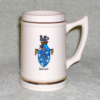 """Holland Crest"" - Ceramic Mug - Breweriana"