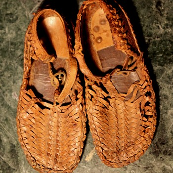 Child's Huaraches from Mexico - Shoes