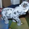 Ceramic elephant figure