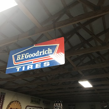 BF Goodrich tire sign  - Signs