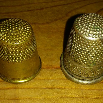 Two Thimbles  - Sewing