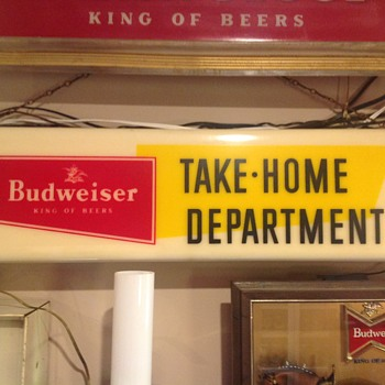 Budweiser light  - Breweriana