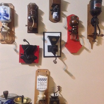Coffee grinder collection