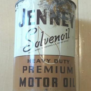 New dirty Jenney Oil Can  - Petroliana